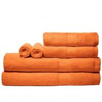 Wholesale Orange Cotton Bamboo Towels from china suppliers
