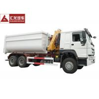 Wholesale Hydraulic Waste Bin Trucks Foldable Crane  Carbon Steel Box Easy Operation from china suppliers