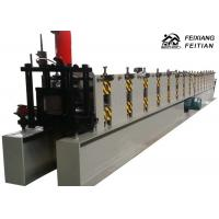 Wholesale Rectangle Shape Rain Gutter Making Machine , Steel Gutter Roll Forming Machine from china suppliers