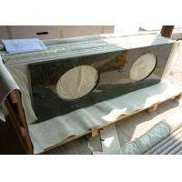 Wholesale Uba Tuba Granite 61 Inch Prefab Vanity Tops With Double Sink Holes from china suppliers