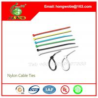 China 250 Pc 4.8x450mm Locking Nylon Fastener Pack Cable Zip Tie Teeth Grip color 0.18x17.7inch on sale