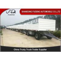 Wholesale 30000 - 50000kg Side Panel Draw Bar Trailer Mechanical / Air Suspension from china suppliers