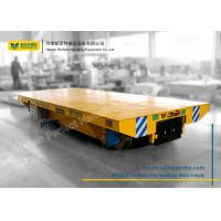 Quality Large Capacity Rail Battery Transfer Cart Carriage with Casting Wheels for sale