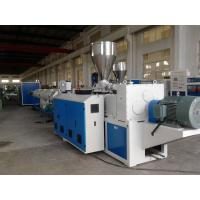 Wholesale UPVC / PVC Pipe Extrusion Line Full Automatic Plastic Pipe Production Line from china suppliers
