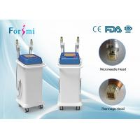 Buy cheap tap in real treatment result here!! thermagic rf non-invasive fractional rf micro needle skin care machine salon use from Wholesalers