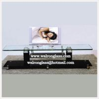 Wholesale Room Furniture Glass TV Stand TV Cabinet from china suppliers