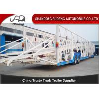 Wholesale Double Level Mechanical Car Transporter Trailer Open Design Three Axles from china suppliers