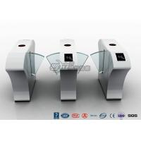 Buy cheap Half Height Access Control Turnstile Automatically Flap Barrier With Acrylic Flap from Wholesalers
