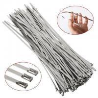 Wholesale UV Resistant Releasable Stainless Steel Cable Ties Non - Flammability from china suppliers