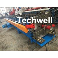 Wholesale 80m, 100mm Or 120mm Custom  Round Downspout Roll Forming Machine for Rainwater Downpipe from china suppliers