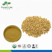 Wholesale Fenugreek Seed / Trigonella Foenum-Graecum Extract Powder 50% Saponins from china suppliers