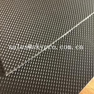 Wholesale Wear Resistant Anti Static Mini Diamond Top Fabric PU / PVC Conveyor Belting from china suppliers