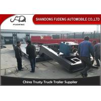 Wholesale Hydraulic Gooseneck lowboy Trailer ,  80 Tons Detachable front loading Low Loader Trailer from china suppliers