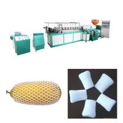 Quality Long Single EPE Foam Sheet Extrusion Line / Fruit Net Making Machine for sale