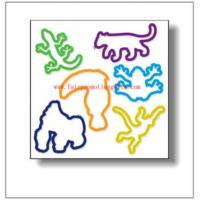 China Animal Rubber Band on sale