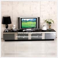 Wholesale Square Shape Black Color Tempered Glass for TV Table from china suppliers