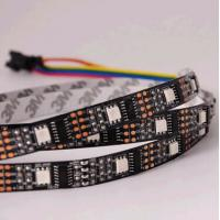 Wholesale madrix ws2801 ic rgb smd black pcb led flexible strip from china suppliers