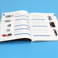 Saddle Stitching Catalogue Printing Service Binding With Hard Cover / Soft Cover