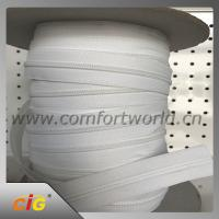 China White Garments Accessories #5 Nylon Coil Separating Zipper Extra Long For Mattress Covers on sale