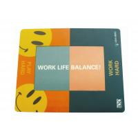 Wholesale Custom Full Colour Personalized Photo Insert Mouse Mats With Anti Slip Material Base from china suppliers