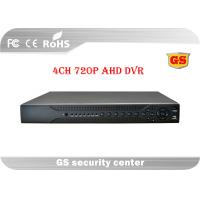 Quality Tribrid 720P AHD CCTV DVR 4 Channel Realtime Recording / Playback for sale