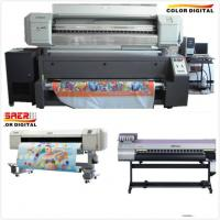 China Polyester Textile Mutoh Sublimation Printer Inkjet Printer Roll To Roll Dual CMYK Color on sale