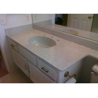 China Bathroom Granite Countertop With Sink Single Custom 25x19 Vanity Top on sale