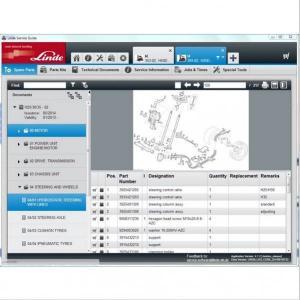 China CE Forklift Diagnostic Tools Catalog 2015 Pathfinder v3.5.8.4 Truck Doctor v2.01.03 Truck on sale