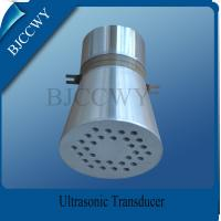Wholesale Piezo Ceramic Ultrasonic Cleaning Transducer , 25 KHZ Ultrasonic Transducer from china suppliers