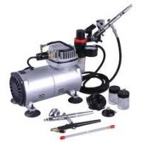 Wholesale Stable Air Flow Auto Stop Professional Low Noise Airbrush Tattoo Kit Machine for Body Art from china suppliers