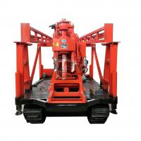 Wholesale Crawler Mounted Water Well Drilling Equipment 200 Meter Depth ISO9001 Standard from china suppliers