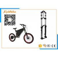 Wholesale 5000W Full Suspension Electric Assist Bike 72V , Stealth Bomber Electric Bike Bicycle For Snow / Beach from china suppliers