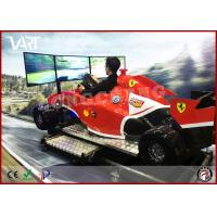 Wholesale 9D VR F1 driving machine with 3 screen super excited car games suitable for increasing shop atmosphere from china suppliers