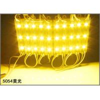 China 12V LED Advertising Light Module SMD 5054 3-chips LED Module for channel letters on sale