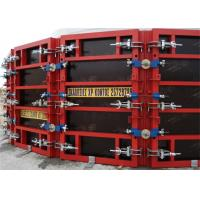 China Painted Concrete Slab Formwork Systems Circular Column Formwork High Turnover Frequency on sale