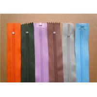 Wholesale Heavy Duty Invisible Zipper For Jackets , Two Way Separating Zipper from china suppliers