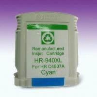 Wholesale 940XLC Ink Cartridges with Chip, Remanufactured for HP Officejet and All-in-One Printers from china suppliers