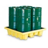 Wholesale SYSBEL Oil Tank 4 Drum PE Spill Pallet And Spill Deck , Easy To Clean from china suppliers