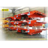 Wholesale Assembly Line Steel Motorized Transfer Trolley / Electric Transfer Cart Carriage from china suppliers