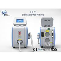 Buy cheap 125J/cm2 Microchannel Cooling Diode Laser Hair Removal Permanent Painless from wholesalers