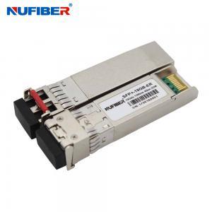 Wholesale SFP-10G-ER 10G SFP+ Transceiver Dual Fiber Singlemode 40km 1550nm LC DDM from china suppliers