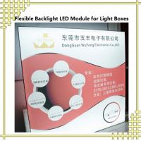 China Flexible Backlight LED Module for Light Boxes on sale