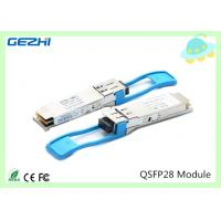 Wholesale 100G QSFP28 Transceivers SR4 MMF 850nm Reach 100M , MTP / MPO connector from china suppliers