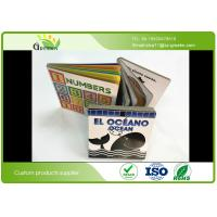 Wholesale Coated Paper Cardboard Toddler Board Books with Matt Lamination / Hot Stamping Surface from china suppliers