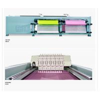 China 24 Needles Quilting Embroidery Machine , Straight Line Computer Quilting Machine on sale