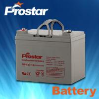Wholesale Prostar gel battery 12v 33ah from china suppliers
