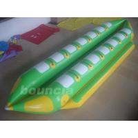 Wholesale Double Lanes Inflatable Banana Boat With Reinforced Strips For Adult from china suppliers
