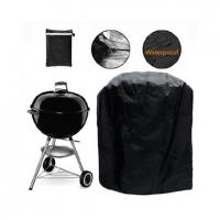 China Durable Custom BBQ Covers , Tri Proof Bbq Grill Cover With Custom Size on sale