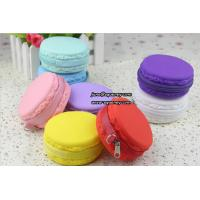 China Macarons christmas promotion gift silicone lady purse wallet on sale