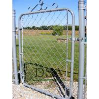 Wholesale chain link fence gates /uses chain link fence gates/galvanized or pvc coated iron wire from china suppliers